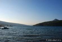 Vent sur le lac