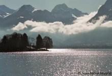 Talloires entre lac et nuages