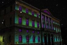 Mairie illuminée