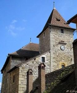 Annecy, vue des tours des vieilles prisons