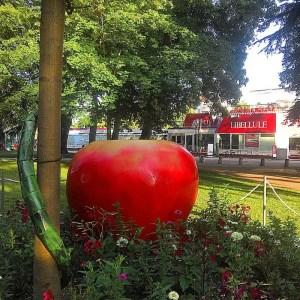 Annecy, jardins de l'Europe
