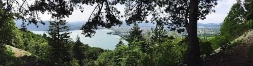 balade au dessus du lac d'Annecy