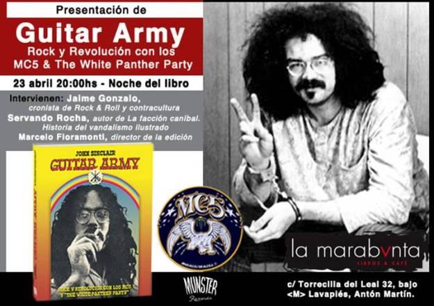Presentación de 'Guitar army'