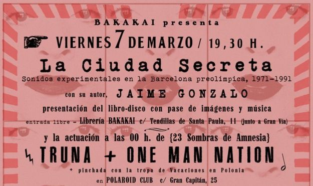 Presentación de 'La ciudad secreta' en Granada