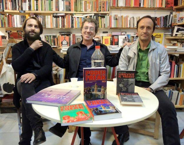 Eduardo Tébar, Jaime Gonzalo y Manuel Borrero.
