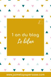 1 an de blogging : je te dis tout ! Mes difficultés, les chiffres, les outils... #jaimelapaperasse #blogging #business #microentreprise #autoentrepreneur #entreprise