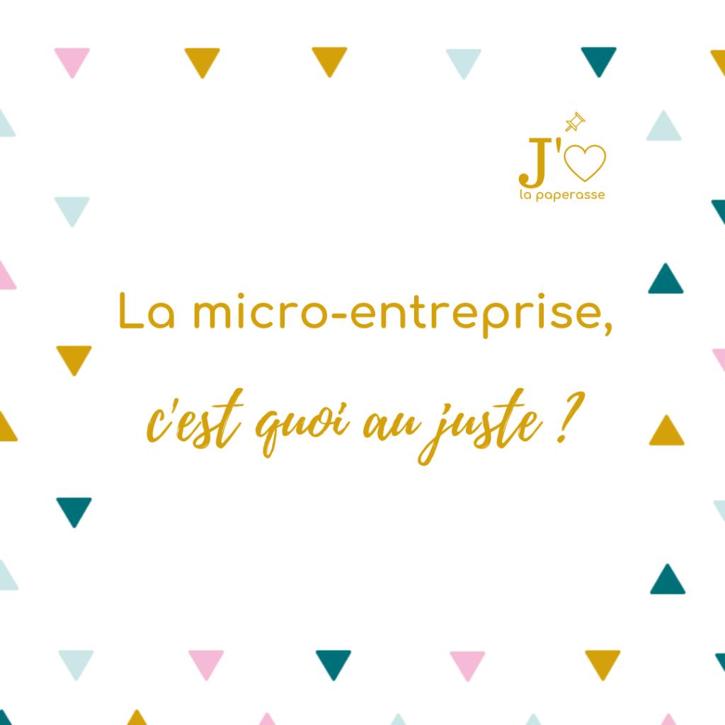 La micro-entreprise (ou le statut d'autoentrepreneur) fait partie du paysage, mais sait-on vraiment ce que c'est ? Présentation de ses principales caractéristiques. #jaimelapaperasse #microentreprise #autoentrepreneur #freelance #creation #entreprise #business #blog