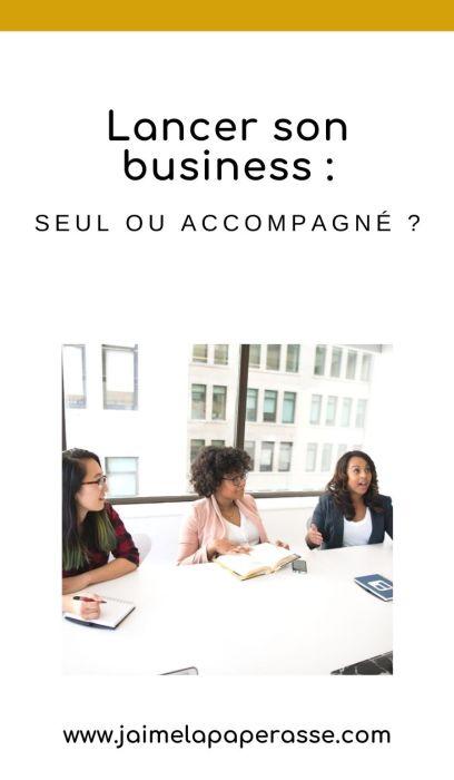 Faut-il se faire accompagner pour créer son entreprise ? Quels avantages et inconvénients ? Réponses dans cet article de J'aime la paperasse. #entrepreneuriat #autoentrepreneur #microentreprise
