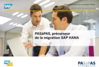 précurseur de la migration SAP HANA