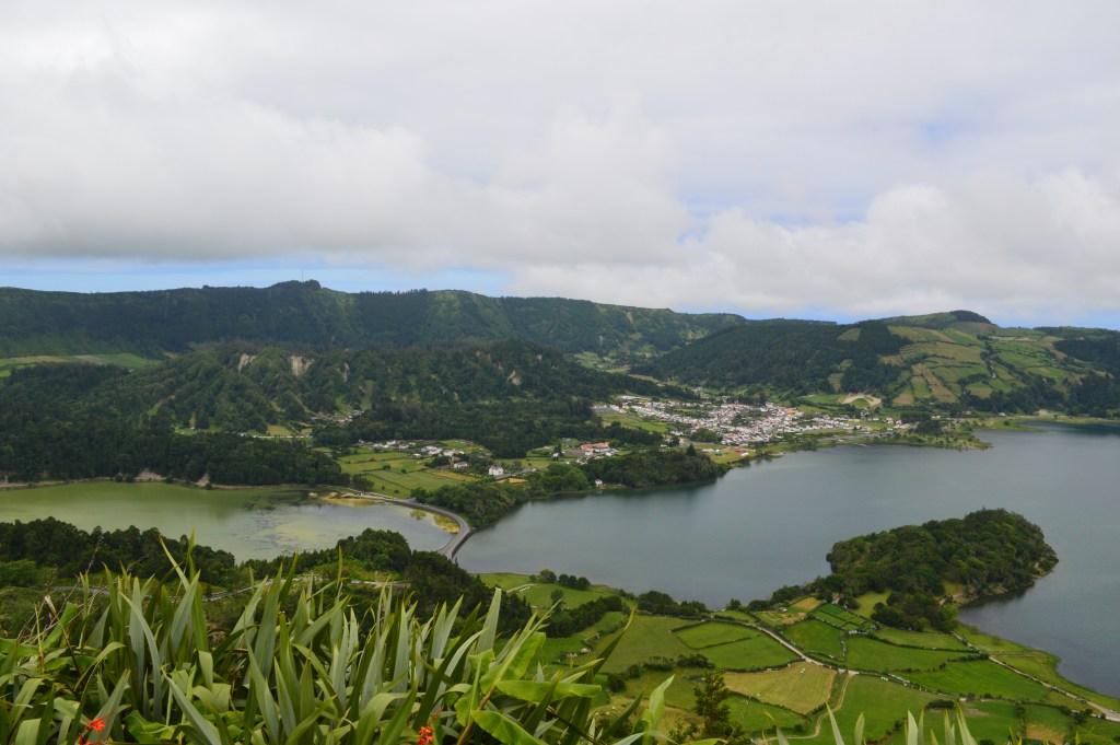 View on a Sete Cidades Hike-Miradouro do Cerrado das Freiras