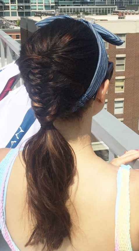 Chicago Blogger   Cute hairstyles for barbeques by Travel Blogger Jaime Says