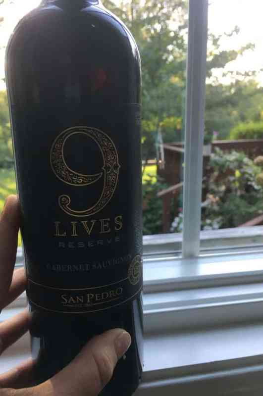 Our Thanksgiving Wine: 9 Lives