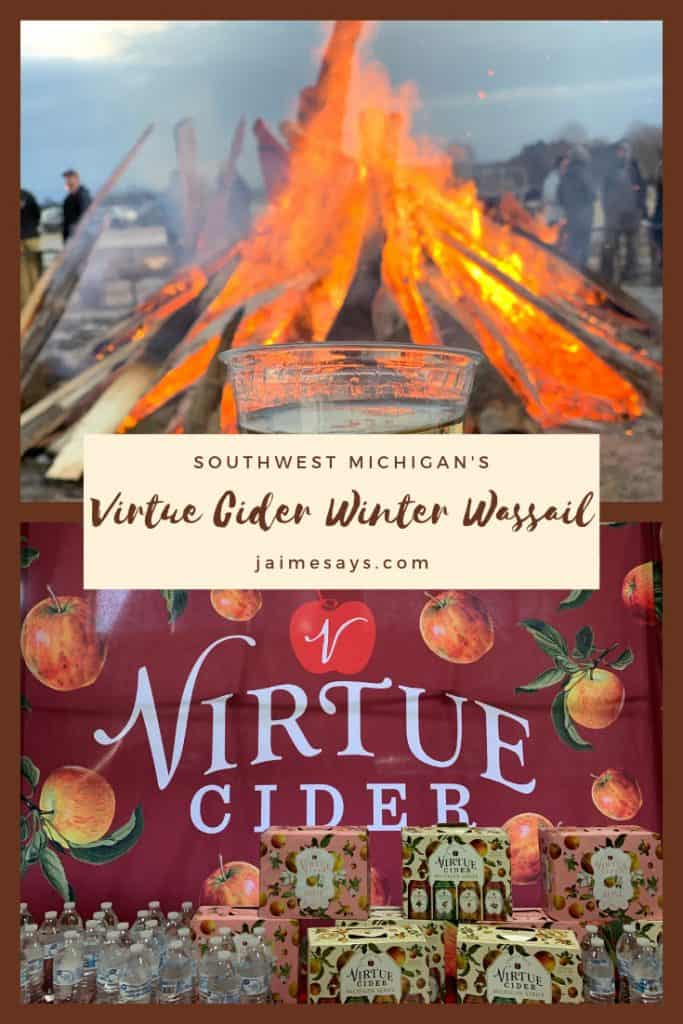Wondering what a #wassailfestival is? This feast, parade, and bacchus event is a winter celebration to bless the upcoming harvest. With #cider, #firefestivals, #snowshoeing, and lambs, Virtue Cider's #Winter #Wassail is a can't miss if you are near Southwest #Michigan. It's only 2 hours from #Chicago.