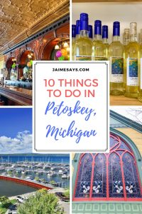 10 Things to do in Petoskey Pin