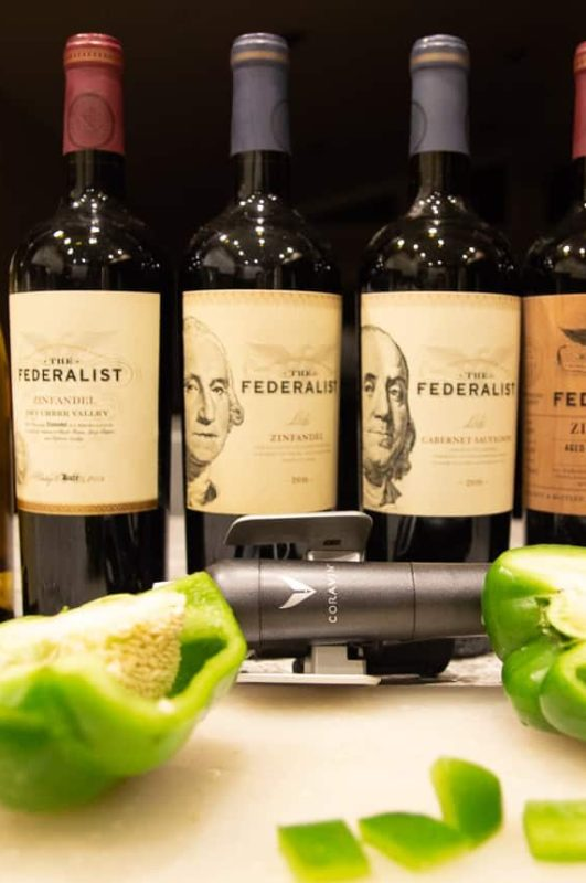 A Flight of Zinfandel with The Federalist Wine