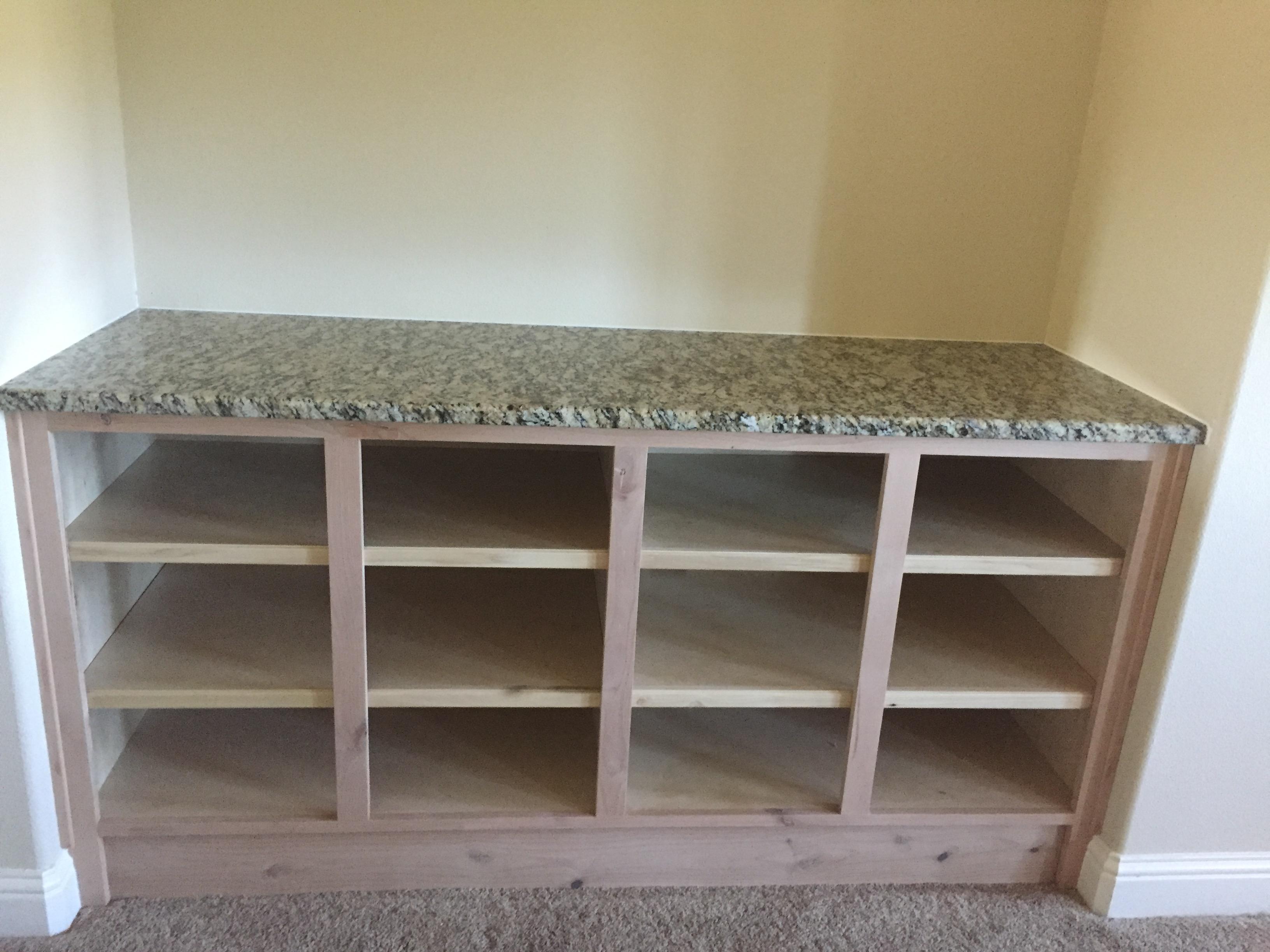 Jaimes Custom Cabinets   Custom Built In