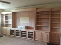 Jaimes Custom Cabinets | Unfinished Custom Built-Ins