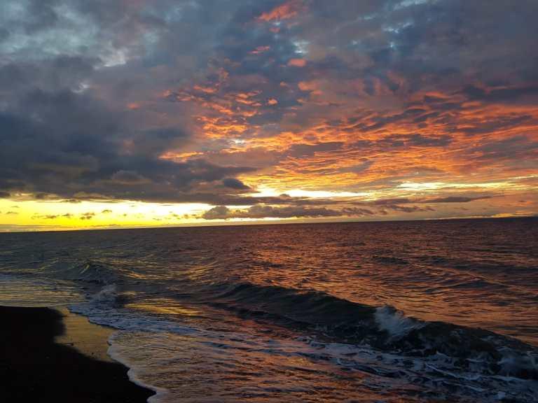 sunset boracay filipinas