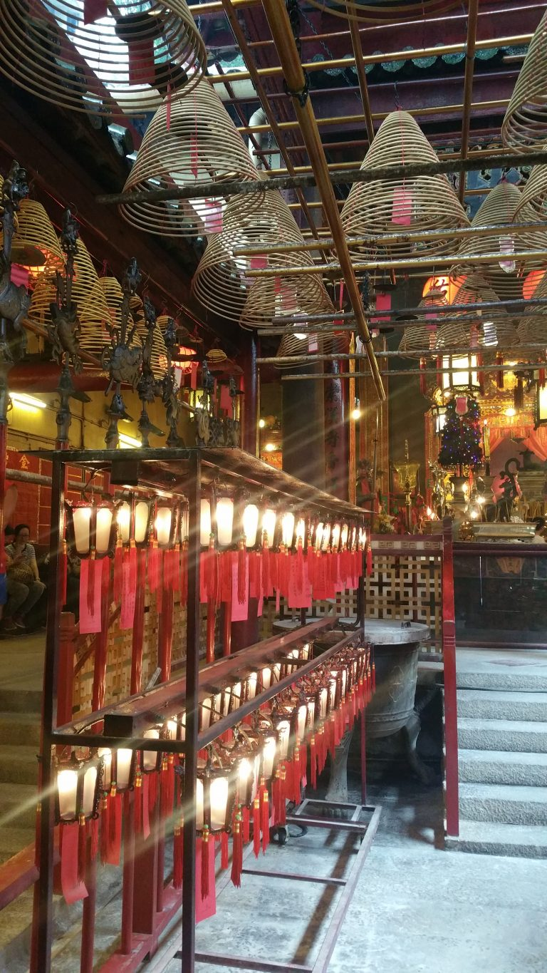 MAN MO TEMPLE HONG KONG