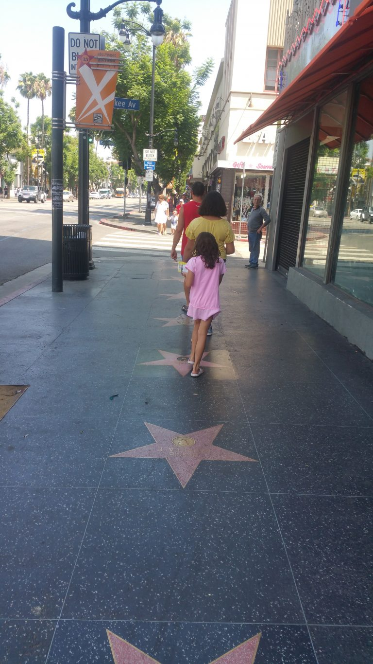 HOLLYWOOD AVENUE OF STARS