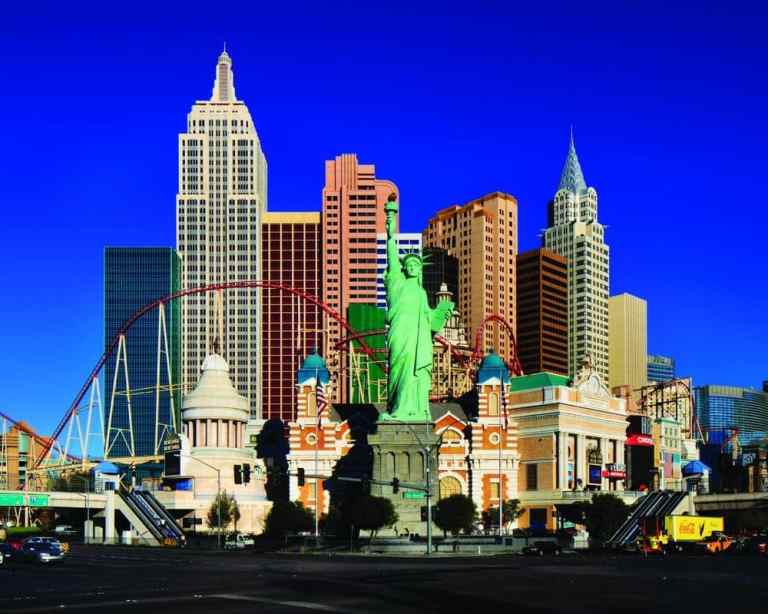 THE NEW YORK NEW YORK HOTEL LAS VEGAS