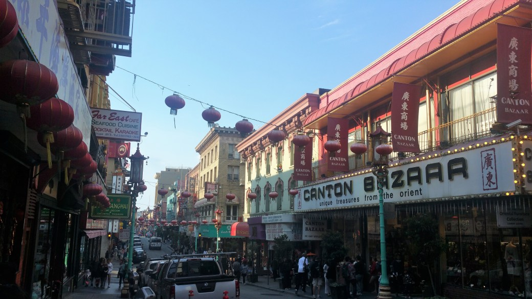 CHINA TOWN SAN FRANCISCO CALIFORNIA USA