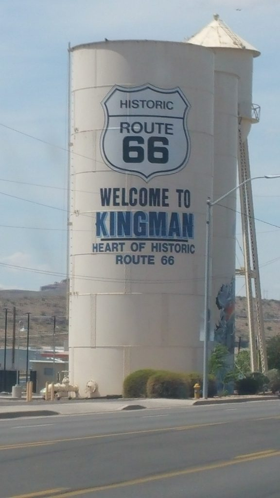 KINGMAN ROUTE 66 COSTA OESTE USA