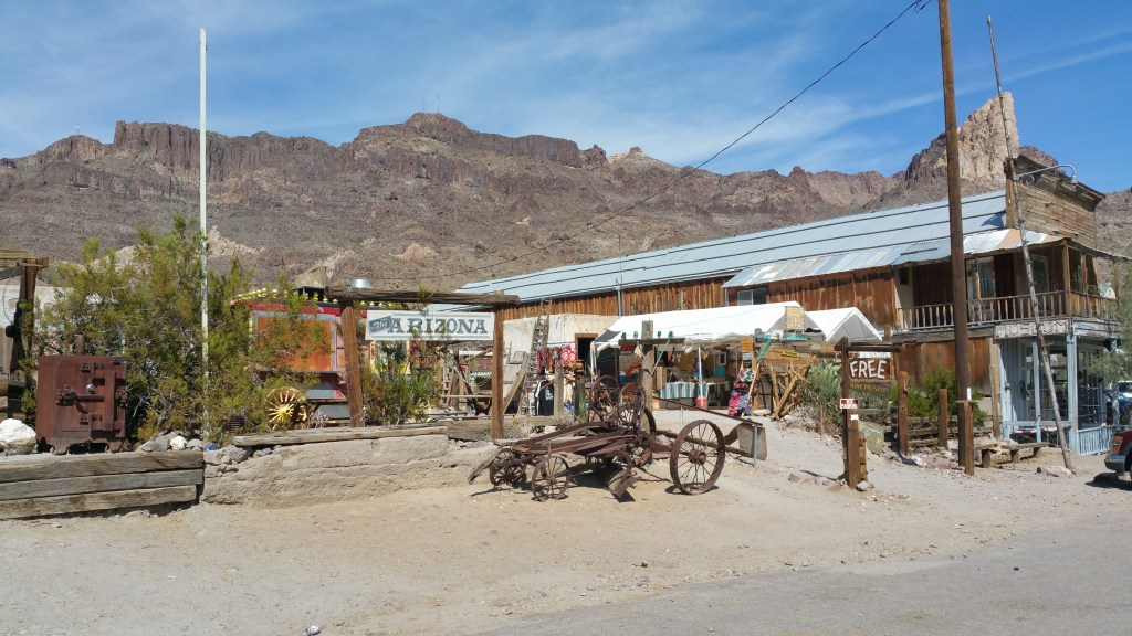 OATMAN ROUTE 66 COSTA OESTE USA