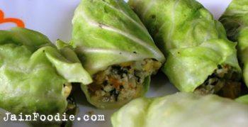 Jain Cabbage Rolls