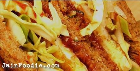 Jain Cabbage Sandwich