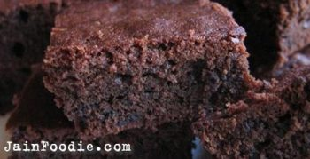 Jain Chocolate Brownie