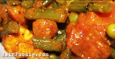 Vegetable jalfrezi recipe jain food recipes jain vegetable jaldrezi forumfinder Gallery