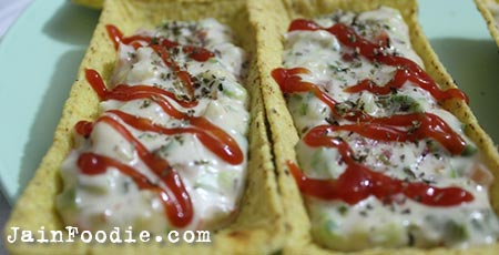 Jain Vegetable Tacos