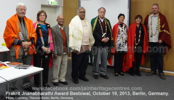 'Prakrit Jananbharathi International Award' 2010 & 2011 Bestowal