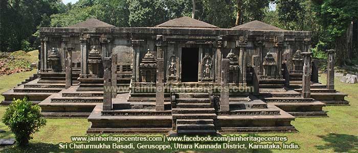 Chaturmukha-Basadi-Jain-Temple-Gerusoppe-Gerusoppa-Karnataka