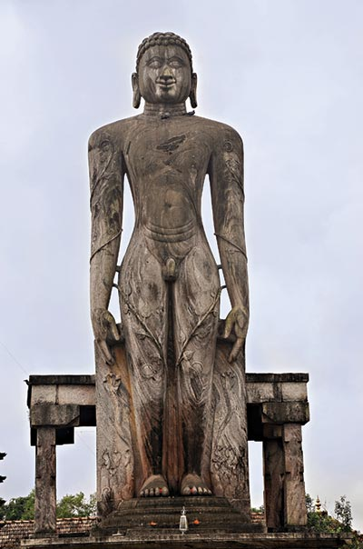Idol of Lord Bahubali at Venur