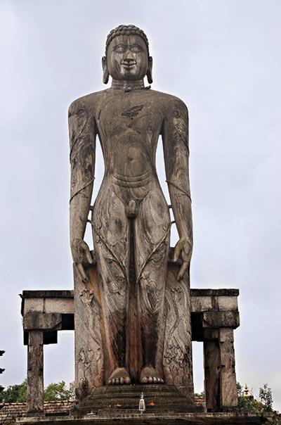 Idol of Lord Bahubali at Venur