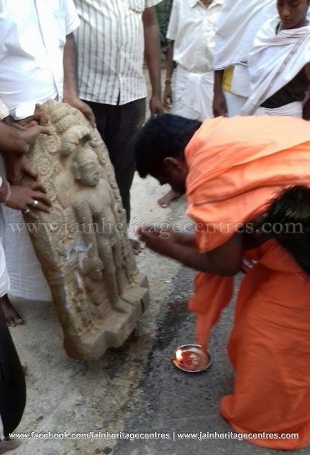Kanakagiri-Karnataka-Parshwanath-Tirthankar-Jain-Idol-Found-0011
