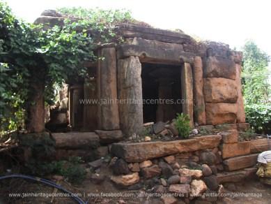 Makodu - Sri Parshwanath Swamy Temple Before Renovation