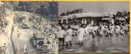 ಧರ್ಮಸ್ಥಳ ಬಾಹುಬಲಿಯ ಆಗಮನದ ಚಿತ್ರ