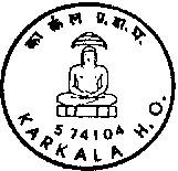Karkala (Karnataka)574104 - (on 05-02-91)