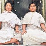 11-year-old twin Jain monks to exhibit unique memory skills in Hyderabad