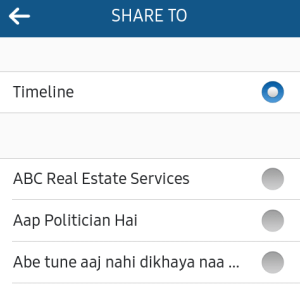 Instagram Share to Facebook Page Settings