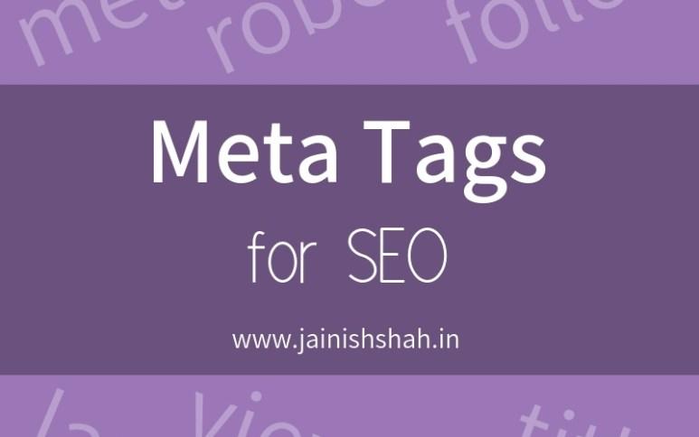Meta Tags For SEO | Metadata SEO Best Practices | Jainish