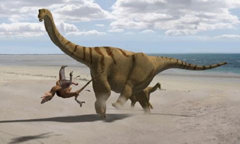 Brontomerus Mcintoshi Dinosaur
