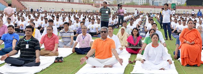 International Yoga Day in Jaipur