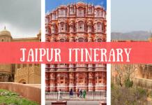 JAIPUR Itinerary: