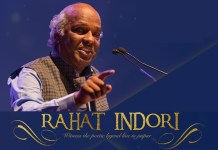 Rahat indori in jaipur, poet in jaiur