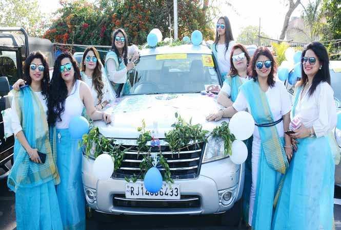 Alankrita WE Society car rally
