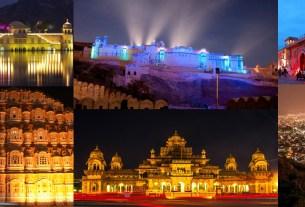 Jaipur night tourism package
